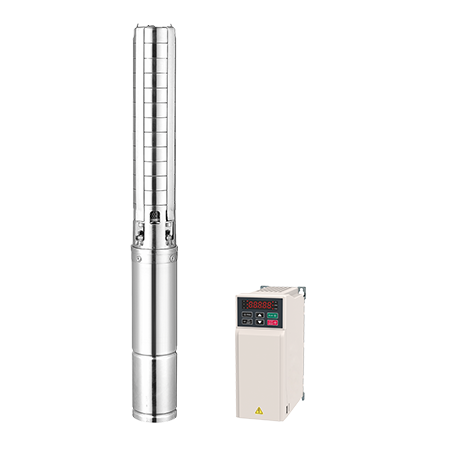 DC/AC Solar Submersible Pumps
